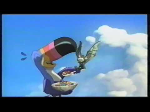 Froot Loops Breakfast Cereal Fruit Bats TV Commercial