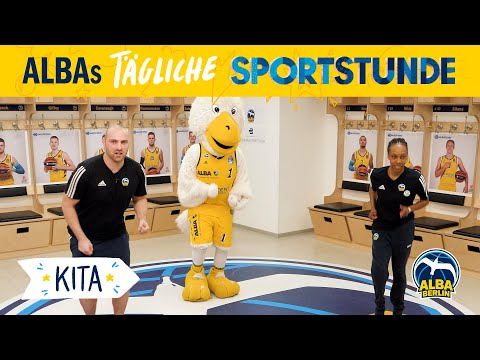 Kita 1 | Flug mit dem Albatros | ALBAs tägliche Sportstunde