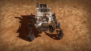 So läuft die spektakuläre Landung von Nasa-Rover