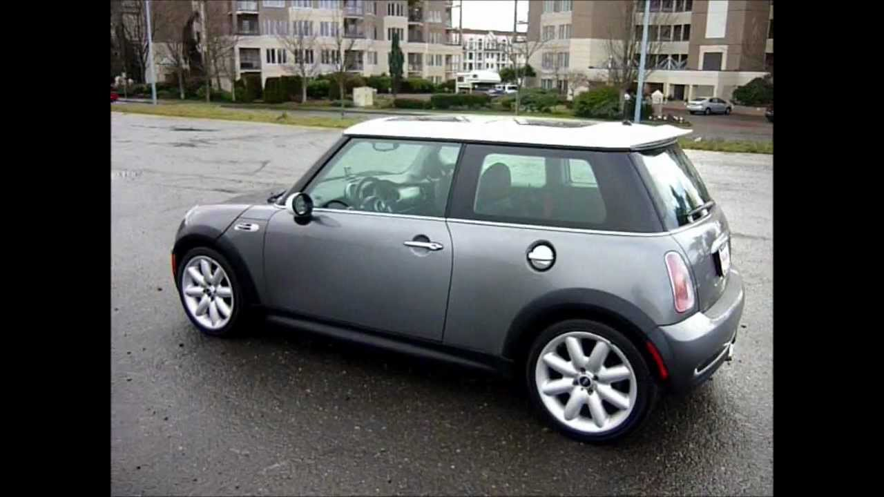 2002 Mini Cooper S 6 Sd Trans 4cyl 1 6l 161kms Sunroof 8995 Malibu Motors
