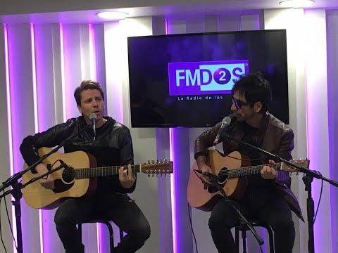 """Andrés de León en #AcústicosFMDOS presentando su nueva canción, """"Nos dolerá"""""""