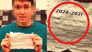 Путешественник Во Времени из 2021 Года Предупредил Человечество