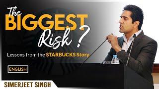 Entrepreneurship Motivation by Simerjeet Singh in ENGLISH | The Starbucks Story Inspirational Video