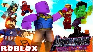 HULK SMASH! | Avengers Endspiel | EP 3 (Roblox Avengers Rollenspiel)