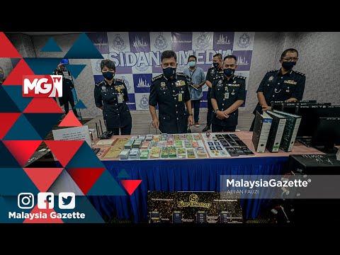 MGNews : 'Datuk Seri' Dalang Aktiviti Perjudian Tumpas