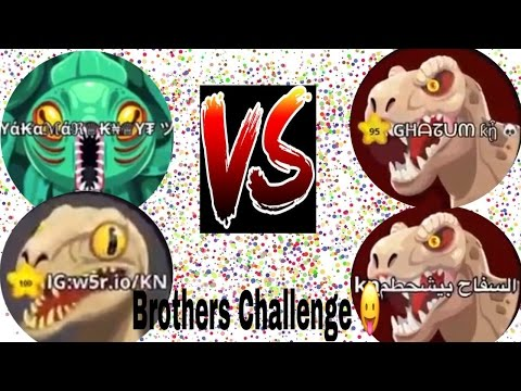 agario big server ever part 2 - BROTHERS CHALLENGE