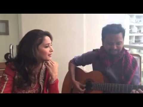 Madhuri Dixit sings