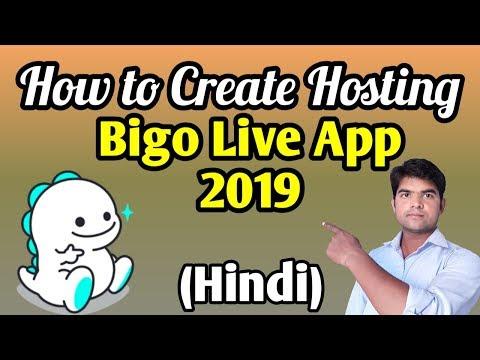 Bigo Live App 2019. How To Create Hosting In Bigo Live App.