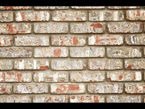 how to make faux brick wall youtube