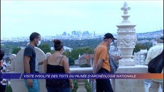 Visite insolite des toits du Musée d'Archéologie Nationale