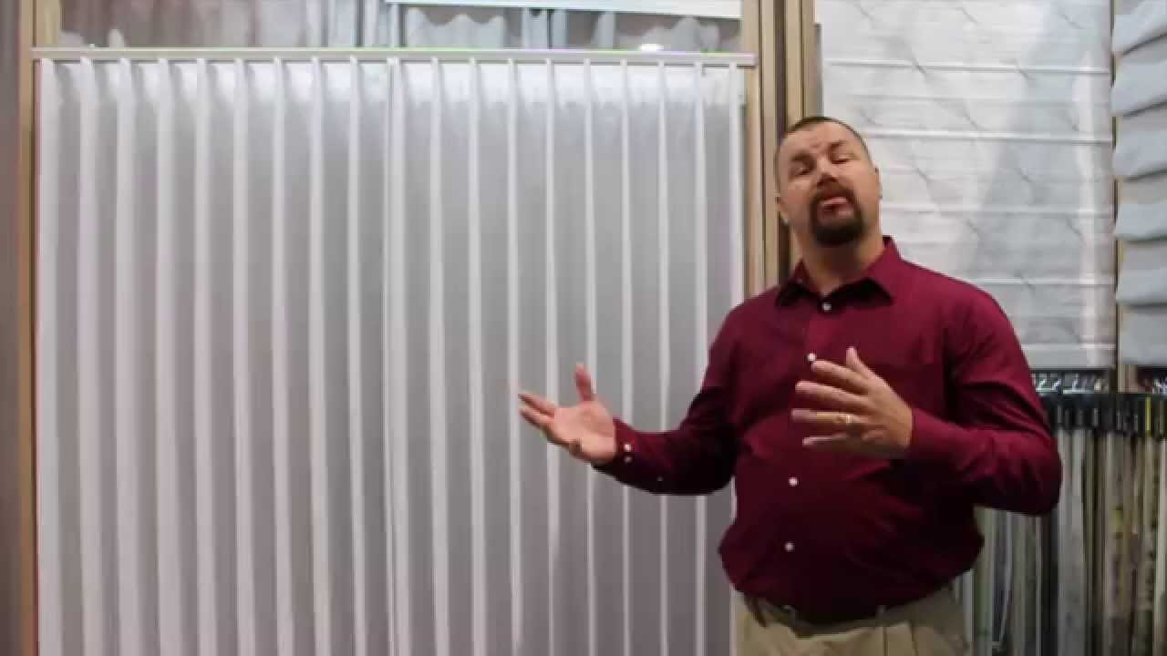 Drapery Panel Amp Sheer Vertical Systems Ado Fabric Youtube