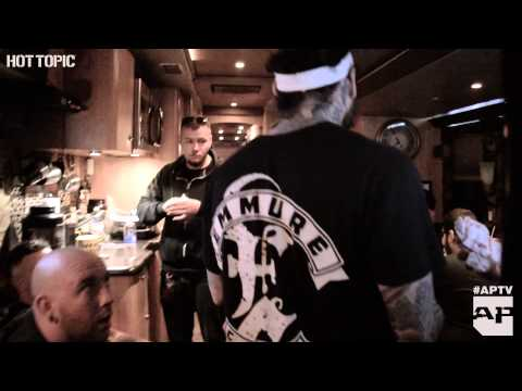 A day in the life of Emmure's Frankie Palmeri