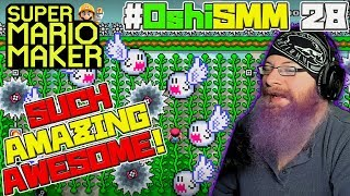 VERY AMAZING AWESOME! - Super Mario Maker - #OshiSMM with Oshikorosu [28]