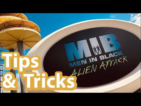 MIB Ride Tips and Tricks For Beginners/First Timers | Men In Black Alien Attack at Universal Orlando
