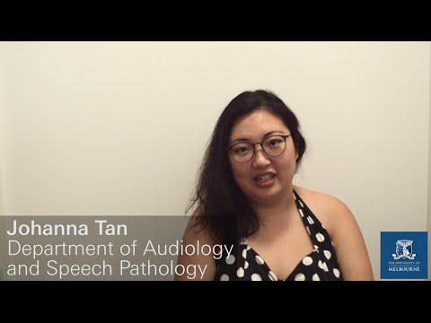 Master Of Clinical Audiology, PhD -  Johanna Tan