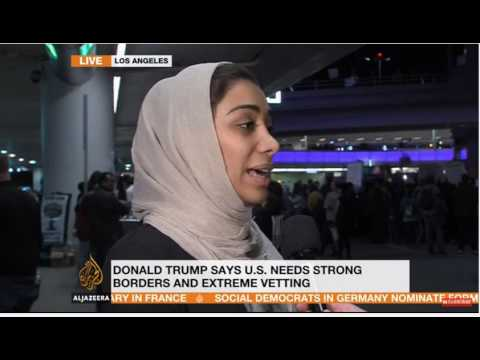 Iranian American Sahar Khorran on how Trump's #MuslimBan is