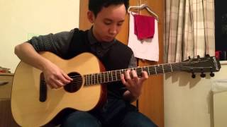 #91 - Vietsoc Queen Mary - Chi Loi Loc - Sunflower - Guitar Fingerstyle