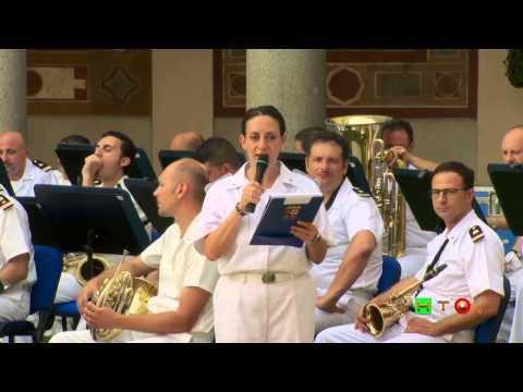 Villa Giulia - Concerto della Banda Musicale della Marina Italiana - www.HTO.tv