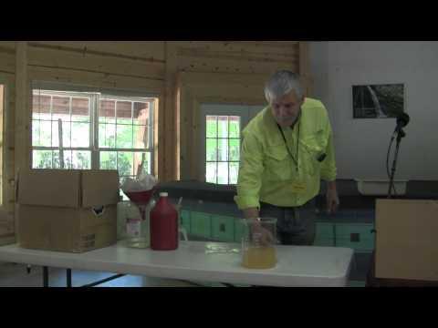 Making ORMEs/ORMUS: John Hudson's White Dragon ORMUS Powder- Enota II May 2011