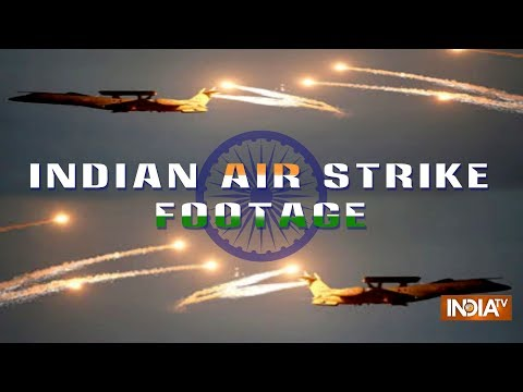 Pakistan Shares Footage Of Indian Air Strike In PoK