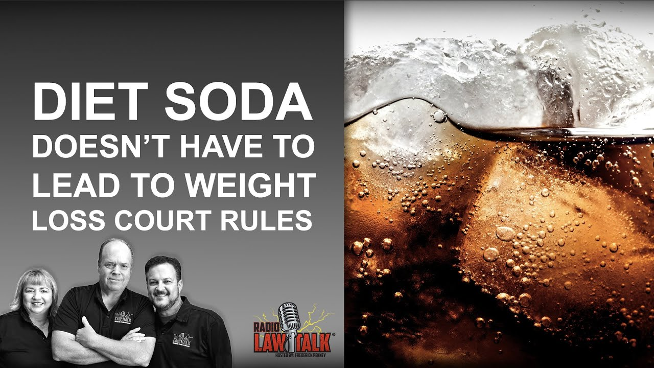 weight loss diet soda vs water