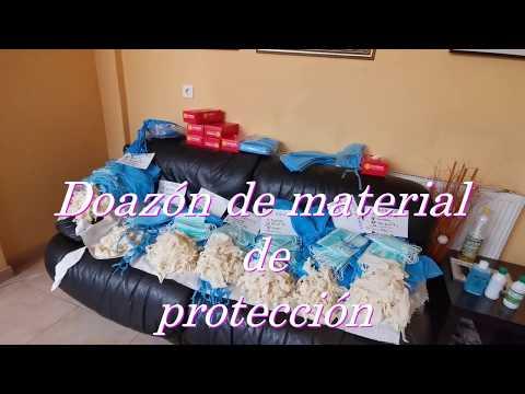 Entrega material Protección contra Covid-19