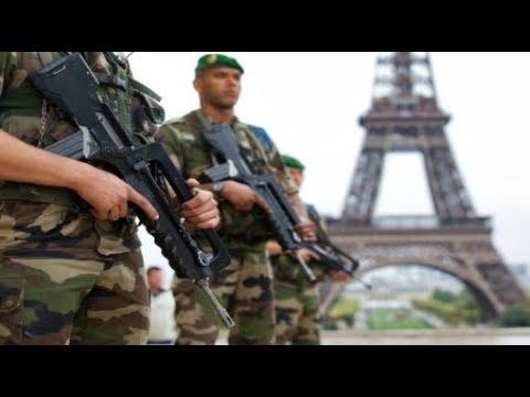 Breaking France arrest Terrorist in BMW plowed 6 Counter Terrorism Soldiers August 2017