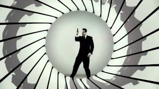 James Bond gun barrel animation