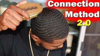 How to Get 360 Wave Connections Fast with Nappy Hair!