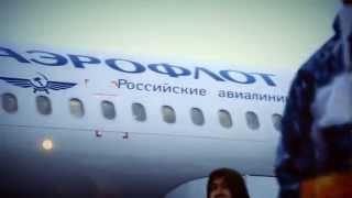 Транспортировка Олимпийского огня «Сочи 2014» самолетом Аэрофлота