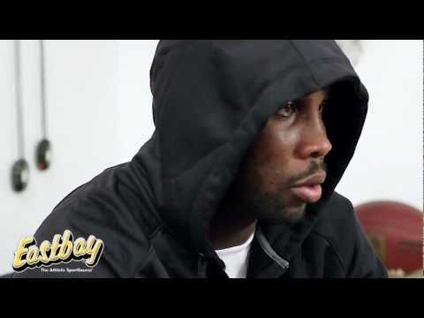 Anquan Boldin talks about training - Eastbay