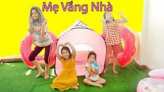 Khi Mẹ Văng Nhà! Dạy Bé Biết Tiết Kiệm - Trang Vlog