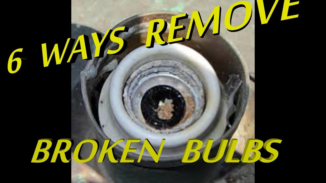 Broken Light Bulb Removal Tool