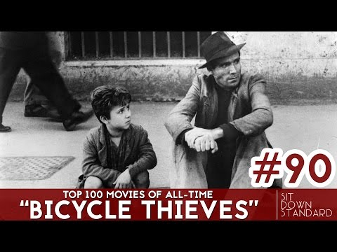 BICYCLE THIEVES REVIEW (No. 90) | Top 100 Movies of All-Time