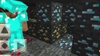 Minecraft pe best ever seed for diamonds!!!
