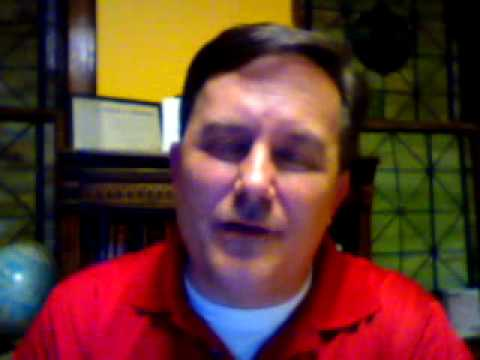 video blog 4.7.2010 order in your prayer life