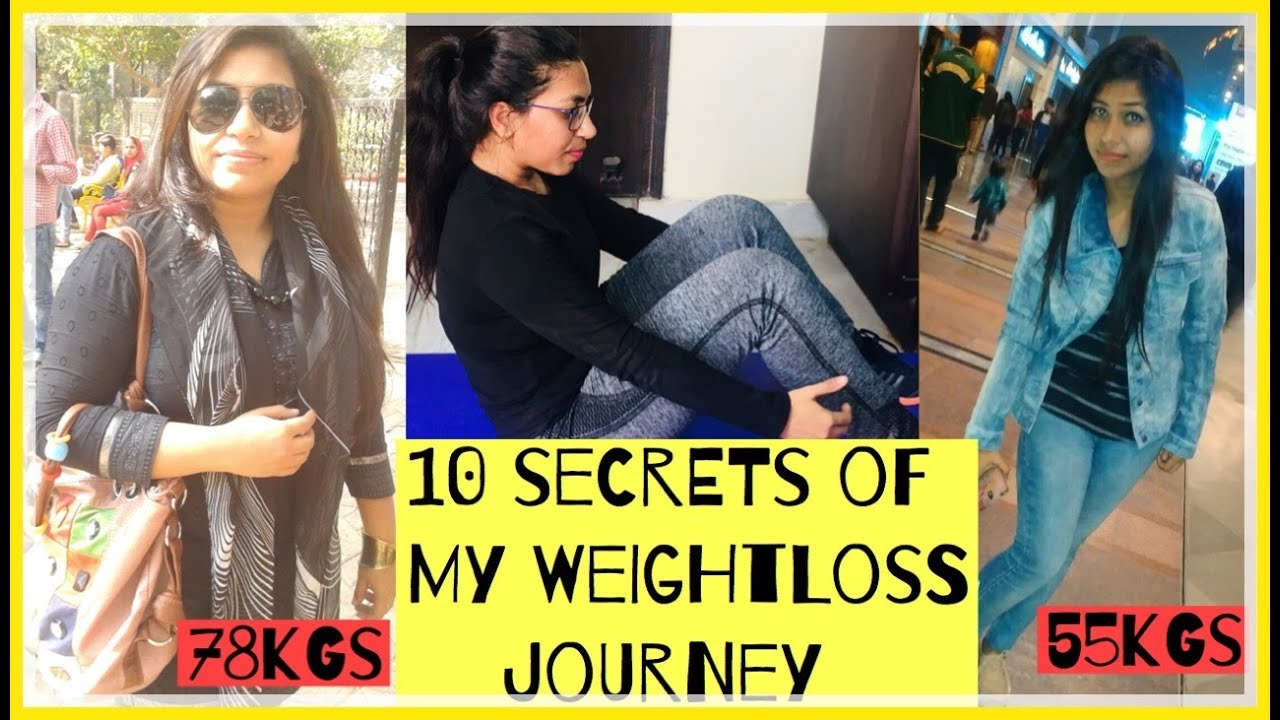 10 secrets of my weight loss journey   How i lost 25kgs in 8 months   Azra Khan Fitness #1