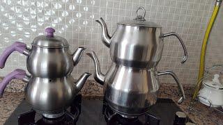 Çelik çaydanlık Tencere nasıl   Pırıl pırıl olur   Pratik Bilgi