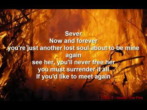 Disturbed | Inside The Fire | Indestructible | W/Lyrics on Screen