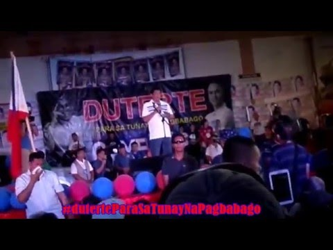 DUTERTE IN MAASIN (full video)
