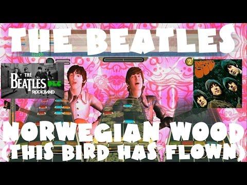 The Beatles - Norwegian Wood (This Bird Has Flown) - The Beatles Rock Band DLC XFB (Dec 15th, 2009)