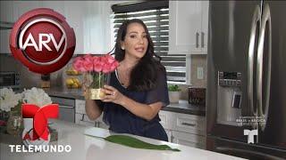 Adorna con flores tu casa sin gastar mucho dinero | Al Rojo Vivo | Telemundo
