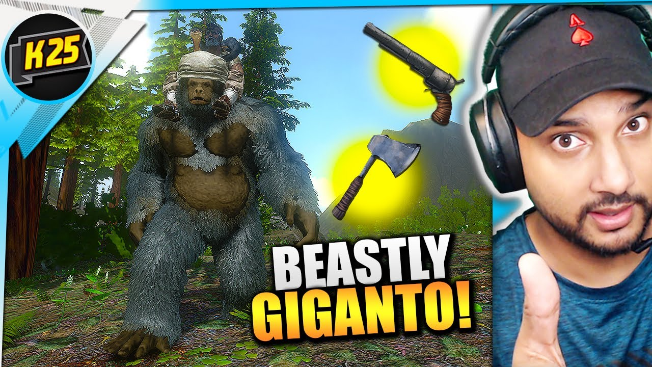 SUPER Alpha Carno LOOT! + BEASTLY Giganto TAME! | Let's Play Ark Mobile [Surviving Redwood Ep10]