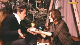 Romy Schneider + Alain Delon  Weihnachten Noel Christmas