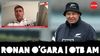 "Ronan O'Gara: ""Cold"" Steve Hansen 