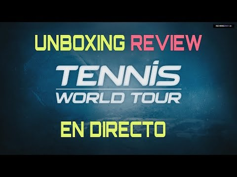UNBOXING & REVIEW Tennis World Tour Legends Edition