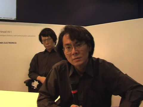"""Interview with Hiroshi """"Man of the Robots"""" Ishiguro."""