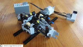 Lego Technic Front Axle [Instructions]