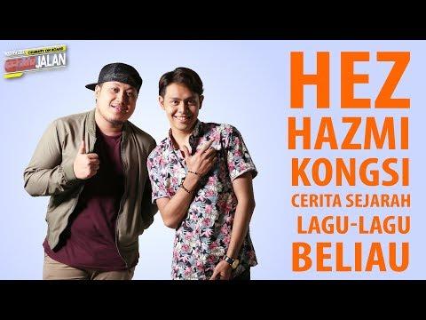 Hez Hazmi kongsi cerita sejarah lagu-lagu beliau | Celebrity On Board Gegar Jalan