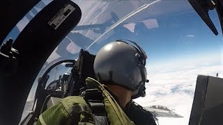 VIDEO - Europe 1 a volé à bord d'un rafale !